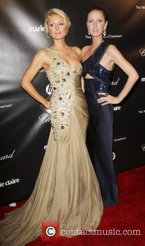 Paris Hilton, Kathy Hilton and Beverly Hilton Hotel 1