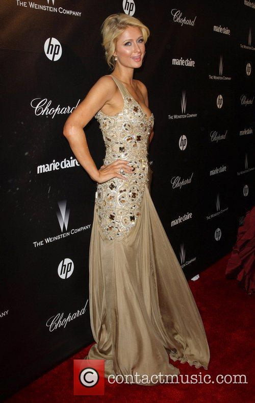 Paris Hilton and Beverly Hilton Hotel 8
