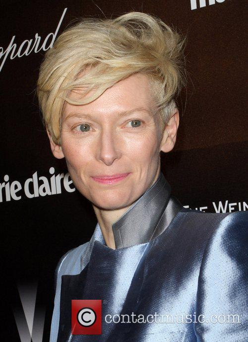 Tilda Swinton and Beverly Hilton Hotel 2