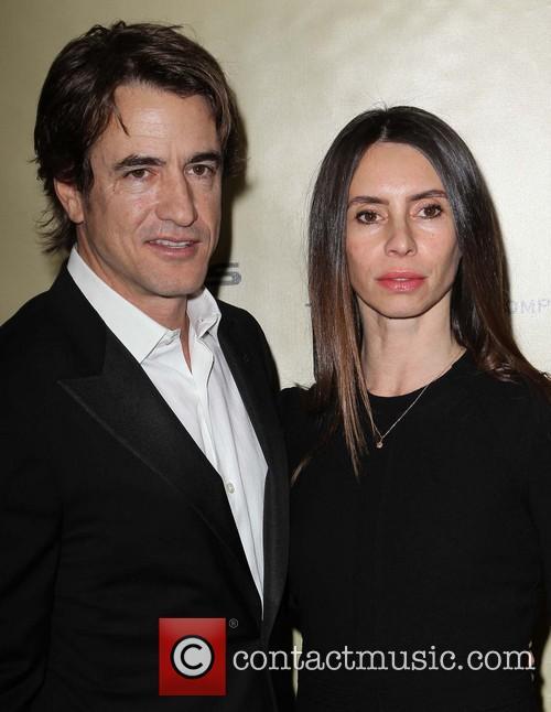 Dermot Mulroney and Tharita Cesaroni 1