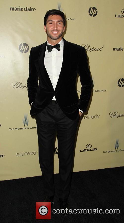 Evan Lysacek The Weinstein Company's 2013 Golden Globe...