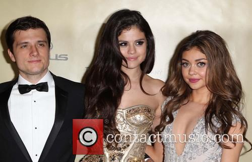 Josh Hutcherson; Selena Gomez and Sarah Hyland The...