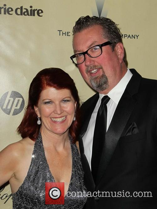 Kate Flannery and Chris Haston The Weinstein Company's...