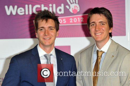 James & Oliver_Phelps Skylar WellChild Awards held at...