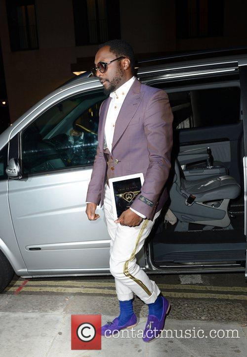Will.i.am,  at the Diamond Jubilee concert afterparty...