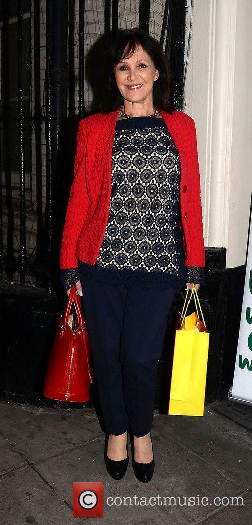Arlene Phillips,  at Dean Piper's birthday party...