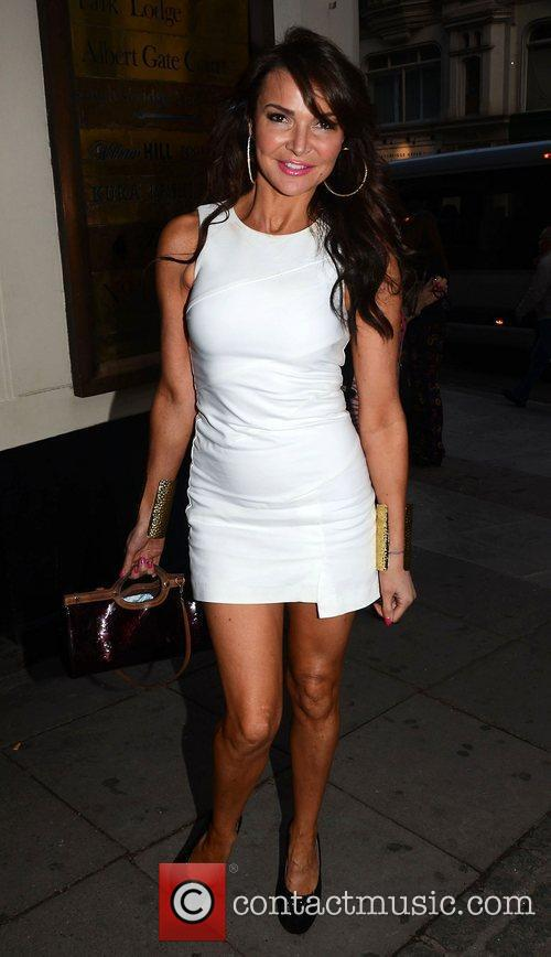 Lizzie Cundy,  at Dean Piper's birthday party...