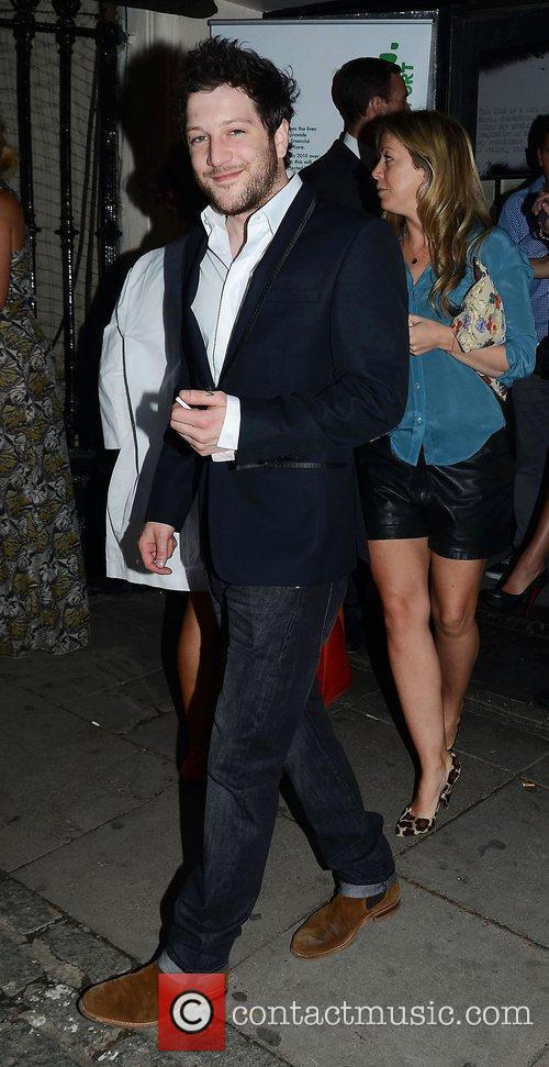 Matt Cardle,  at Dean Piper's birthday party...