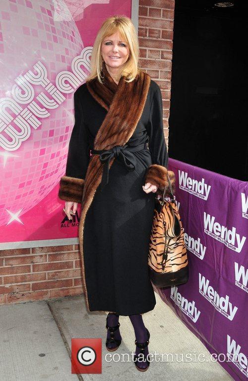 Cheryl Tiegs Celebrities depart the studio for 'The...