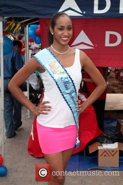Miss Jamaica 2012, Deanna Roby Revelers attend the...