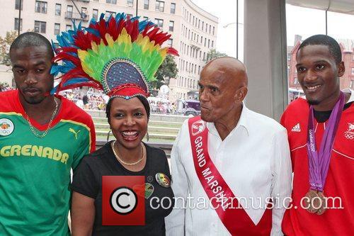 Revelers attend the 45th Annual West Indian Day...