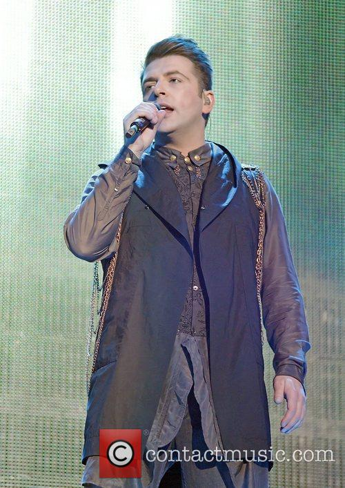 mark feehily of westlife performing on their 3883059