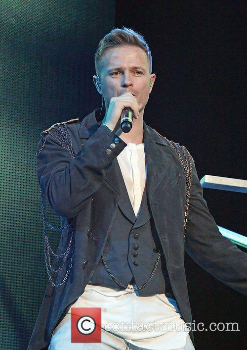 Nicky Byrne and Liverpool Echo Arena 8
