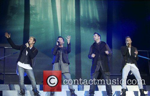 Kian Egan, Nicky Byrne and Westlife 6