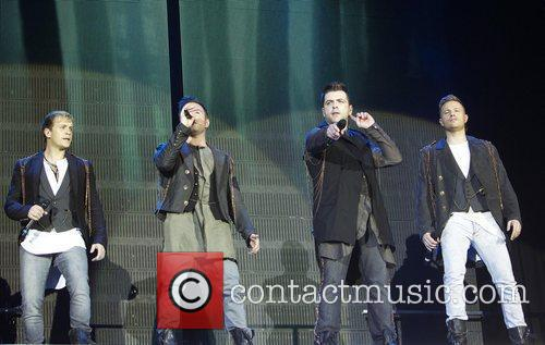 Kian Egan, Nicky Byrne and Westlife 7