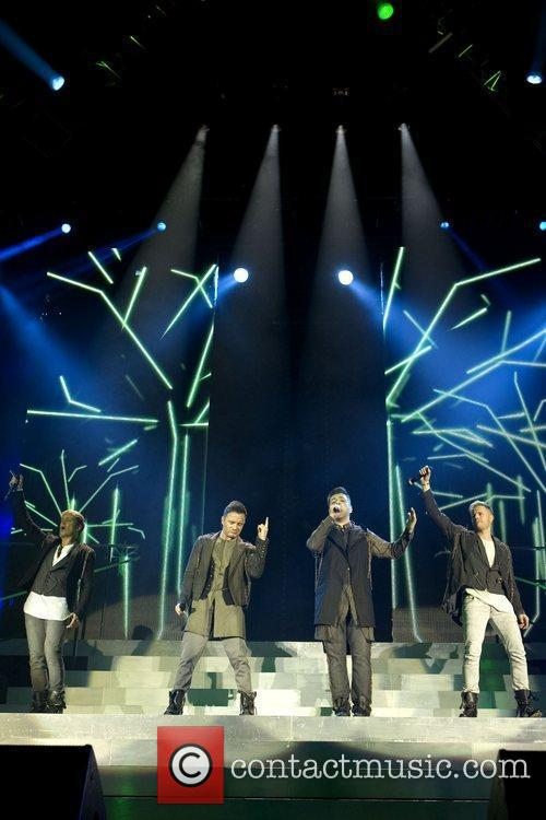 Kian Egan, Nicky Byrne and Westlife 11