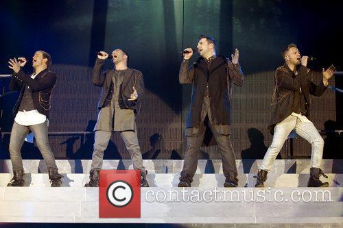 Kian Egan, Nicky Byrne and Westlife 16
