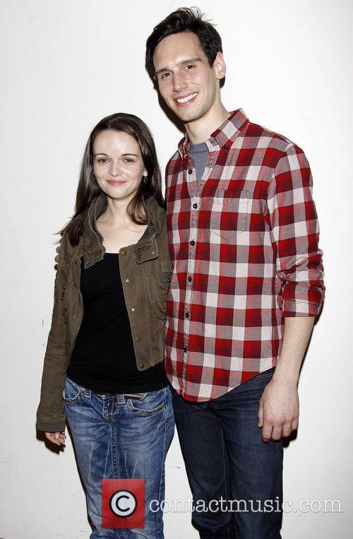 Reyna de Courcy and Cory Michael Smith...