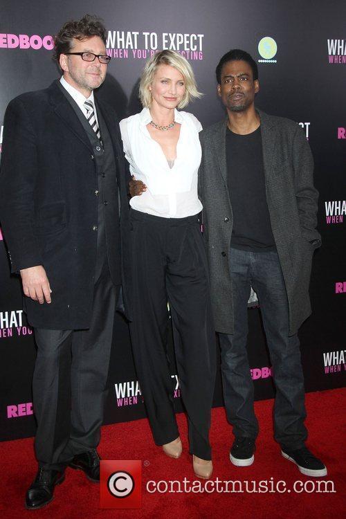 Director Kirk Jones, Cameron Diaz, Chris Rock,...