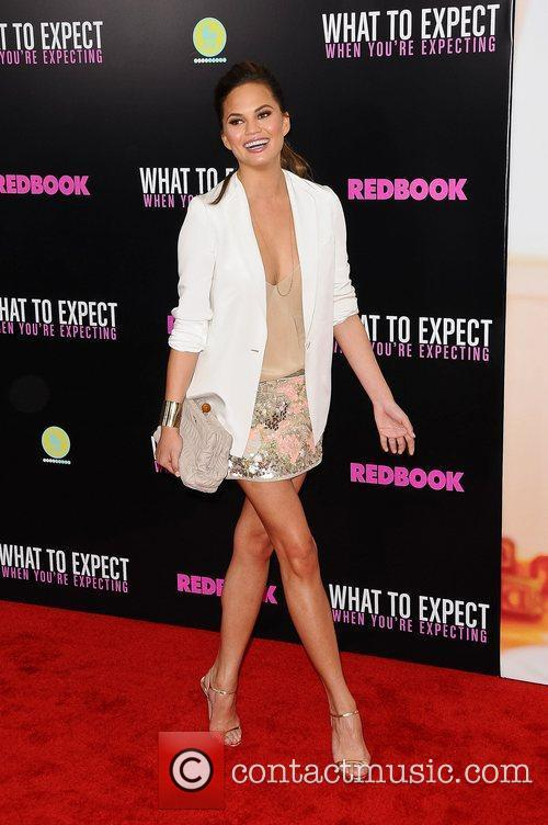 Chrissy Teigen  Screening of 'What To Expect...