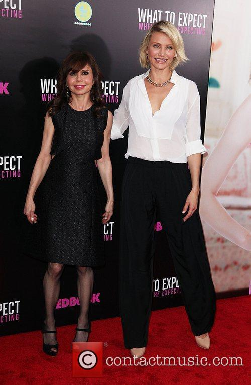 Heidi Murkoff and Cameron Diaz  Screening of...