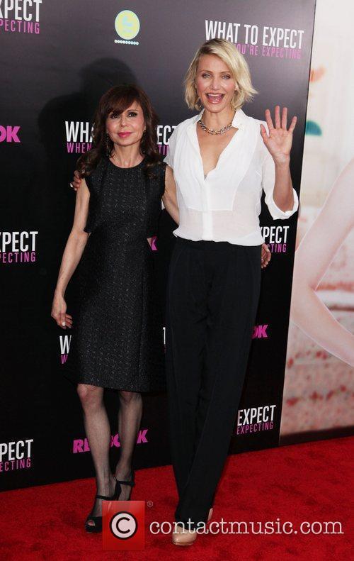 Heidi Murkoff, Cameron Diaz  Screening of 'What...