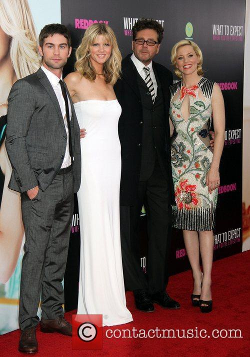 Chace Crawford, Brooklyn Decker, Elizabeth Banks and Kirk Jones 2