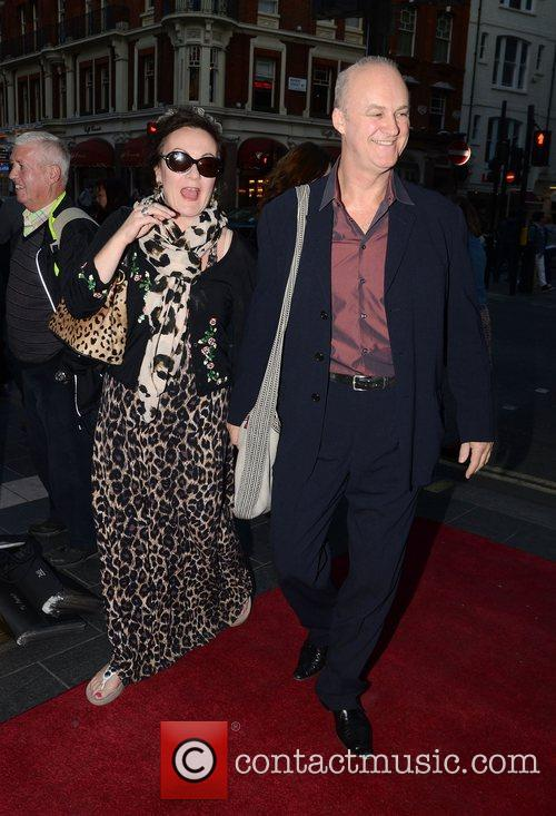 Tim McInnerny and guest Press Launch for 'What...