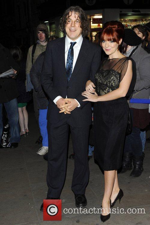 Alan Davies and Sheridan Smith