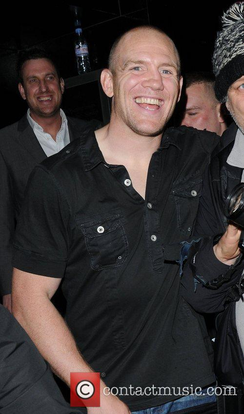 Mike Tindall at Whisky Mist club,  London,...