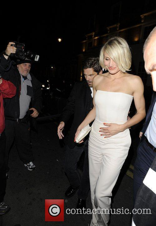 Cameron Diaz leaving Whisky Mist at 3am in...