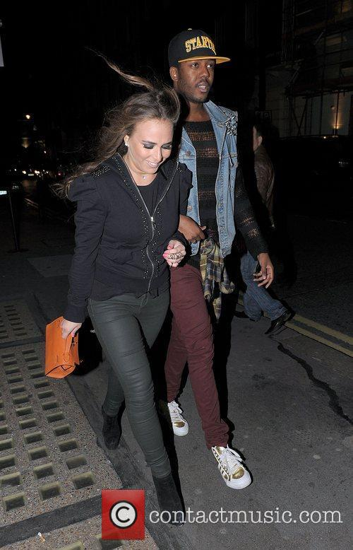 Chloe Green arrives at Whisky Mist with a...