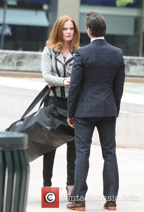 Rebecca Mader and Matt Bomer 2