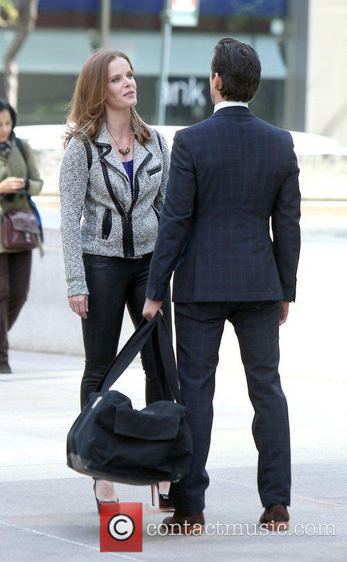 Rebecca Mader and Matt Bomer 3