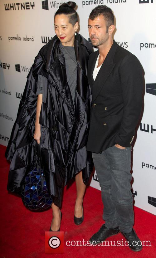 Angela Goding; Jeremy Kost 2012 Whitney Gala at...