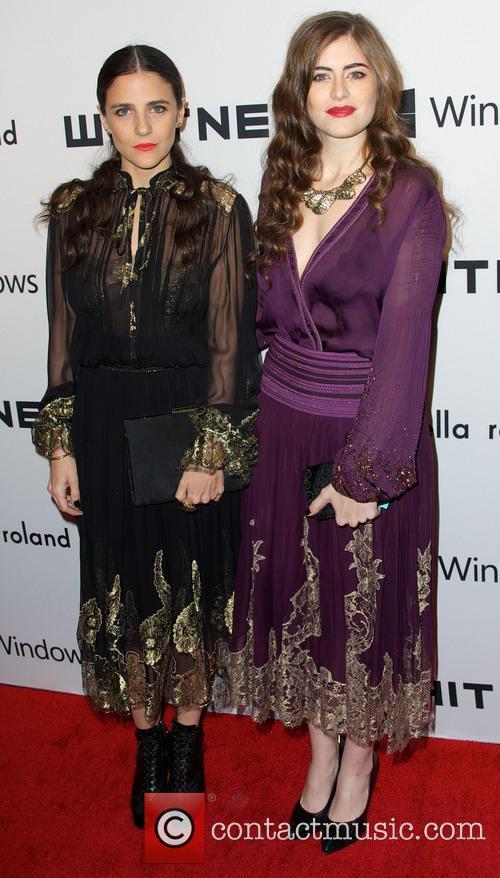 Phoebe Stevens; Annette Stevens 2012 Whitney Gala at...