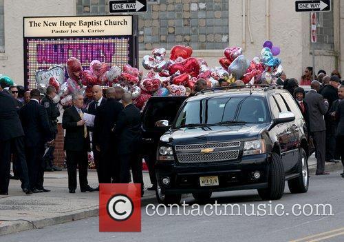 Newark Mayor Corey Booker  The funeral of...