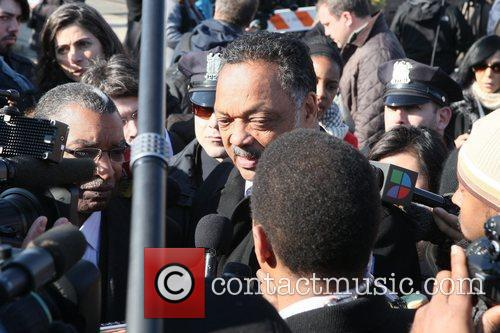 rev jesse jackson the funeral of whitney 5796817