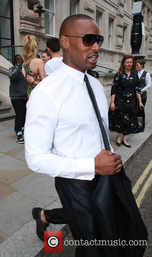 Tyson Beckford seen leaving his hotel London, England