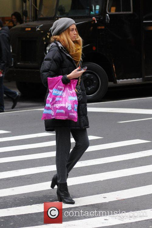 Whitney Port  out and about in Manhattan...