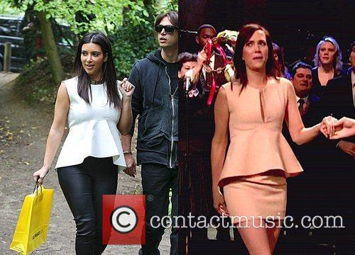 Empire-waist shirt - Who wore it best Kim...