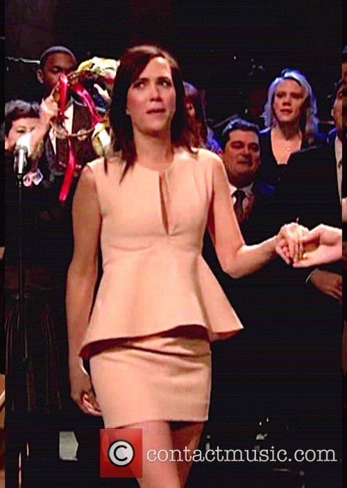 Kristen Wiig and Lorne Michaels 1