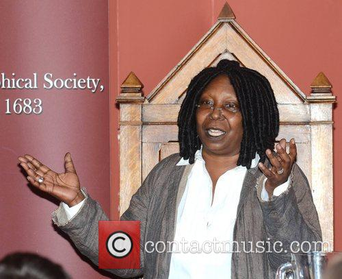 Whoopi Goldberg, Gold Honorary Medal, Patronage, Trinity College Philosophical Society, Dublin and Ireland 9