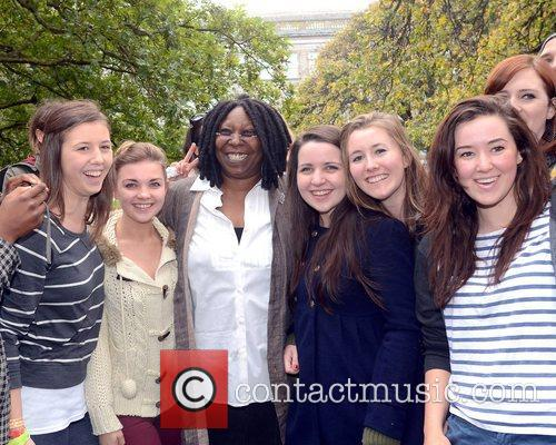 Whoopi Goldberg, Gold Honorary Medal, Patronage, Trinity College Philosophical Society, Dublin and Ireland 16
