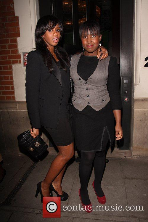 Shaznay Lewis and Michelle Collins 1