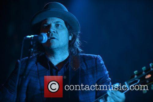 Jeff Tweedy of the band Wilco  performing...