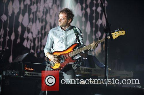 John Stirratt of the band Wilco  performing...