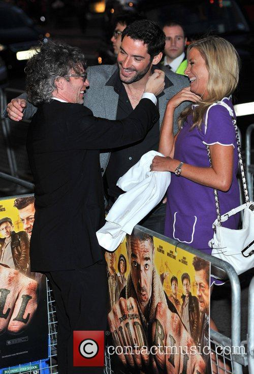 Dexter Fletcher, Tamzin Outhwaite and Tom Ellis 8
