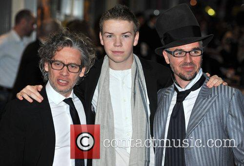 Dexter Fletcher, Charlie Creed-miles and Will Poulter 2