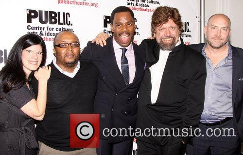 Mandy Hackett, Robert O'hara, Colman Domingo, Oskar Eustis and Patrick Willingham 4